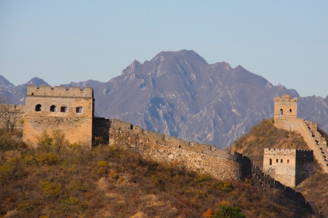 The Great Wall of China between Jinshanling and Simatai, China