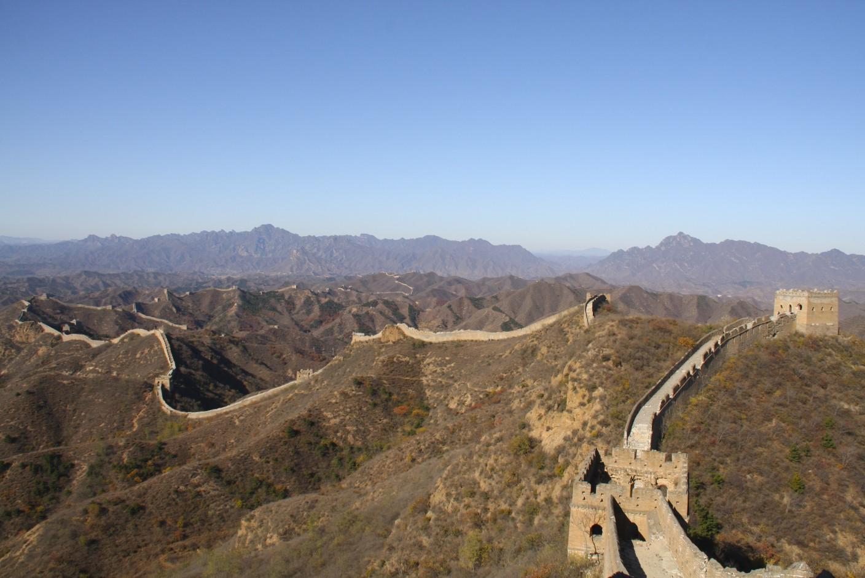 Jinshanling to Simatai Great Wall - Great Walk Hiking Blog