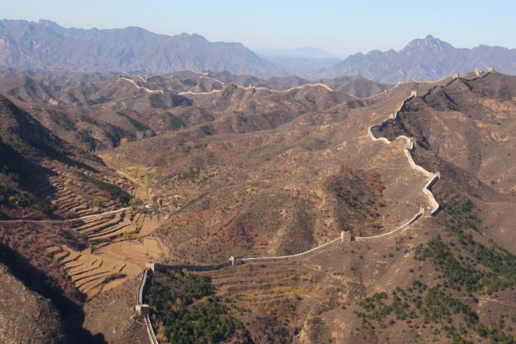 The Great Wall of China between Jinshanling and Simatai, China