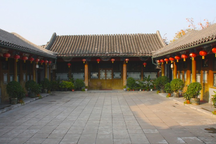 A courtyard house, Beijing, China