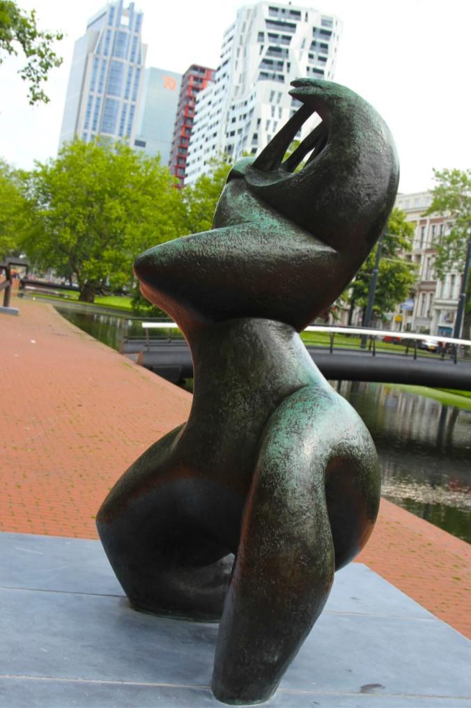 Public art, Rotterdam, Netherlands