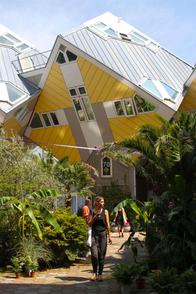 Cube House, Kubuswoningen, Rotterdam, Netherlands