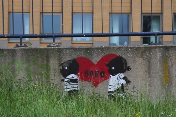 Graffiti, Wijnhaven Rotterdam, Netherlands