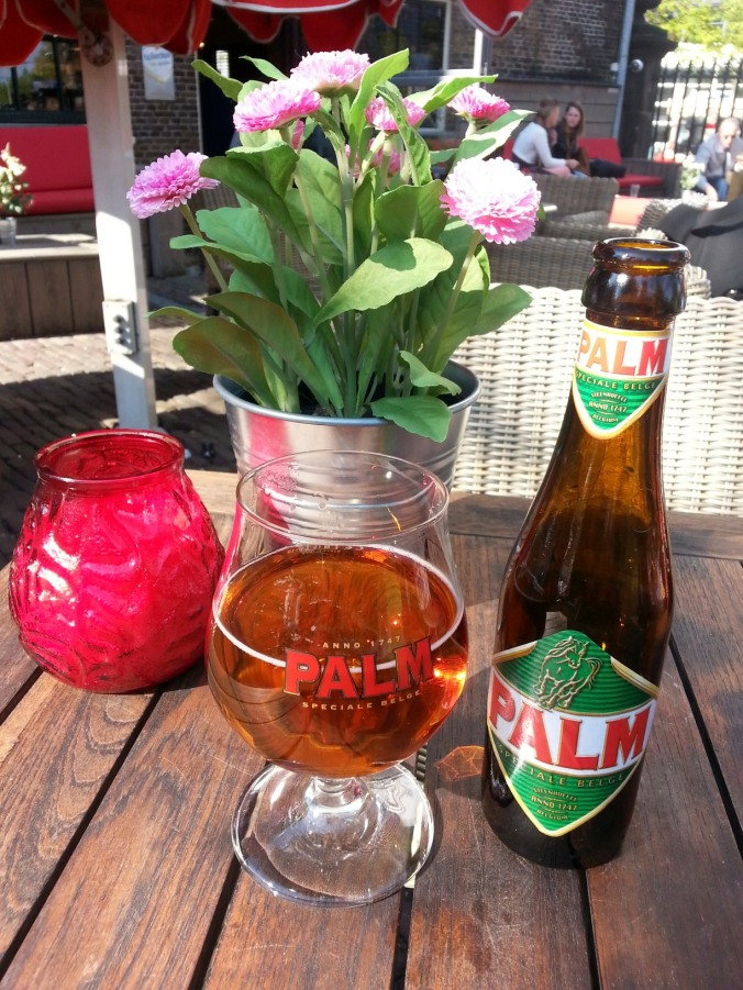 Palm Dubbel tasted in The Hague
