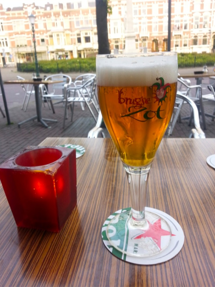Fruity and hoppy, Brugse Zot tested in The Hague