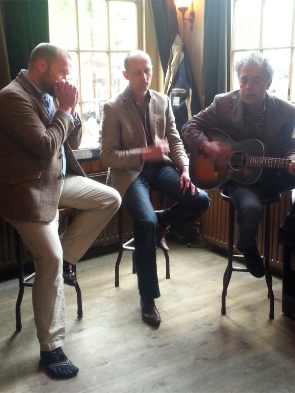 Live music in Delft, Netherlands