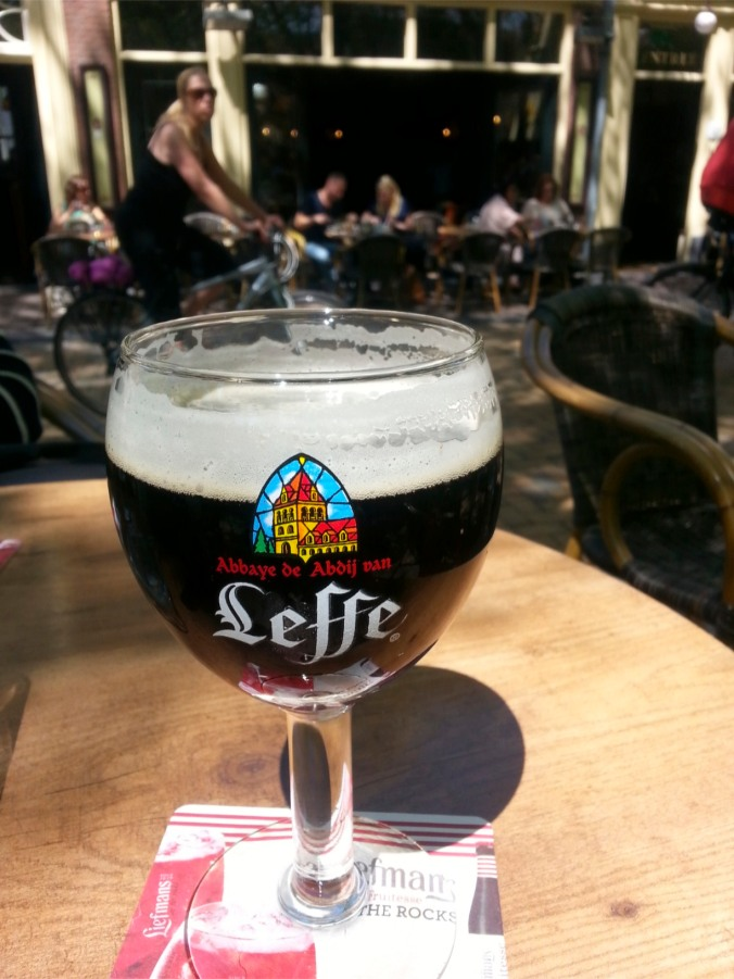 Faithful standby, Leffe Brun, Tasted in The Hague