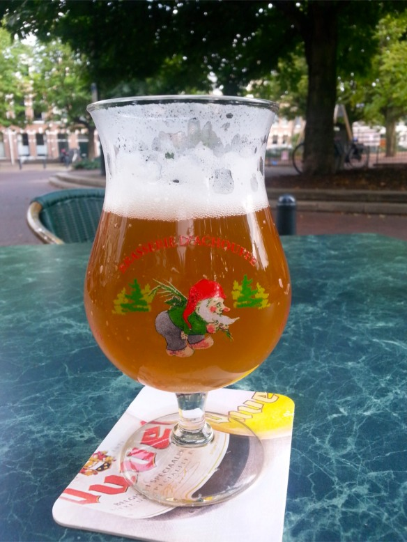 The infamous La Chouffe, tasted in The Hague