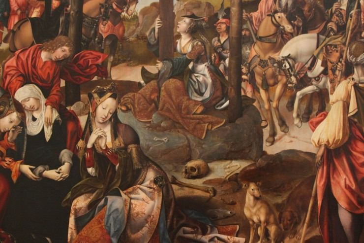 Lamentation of Christ by Cornelis Engebrechtsz, Lakenhal, Leiden, Netherlands