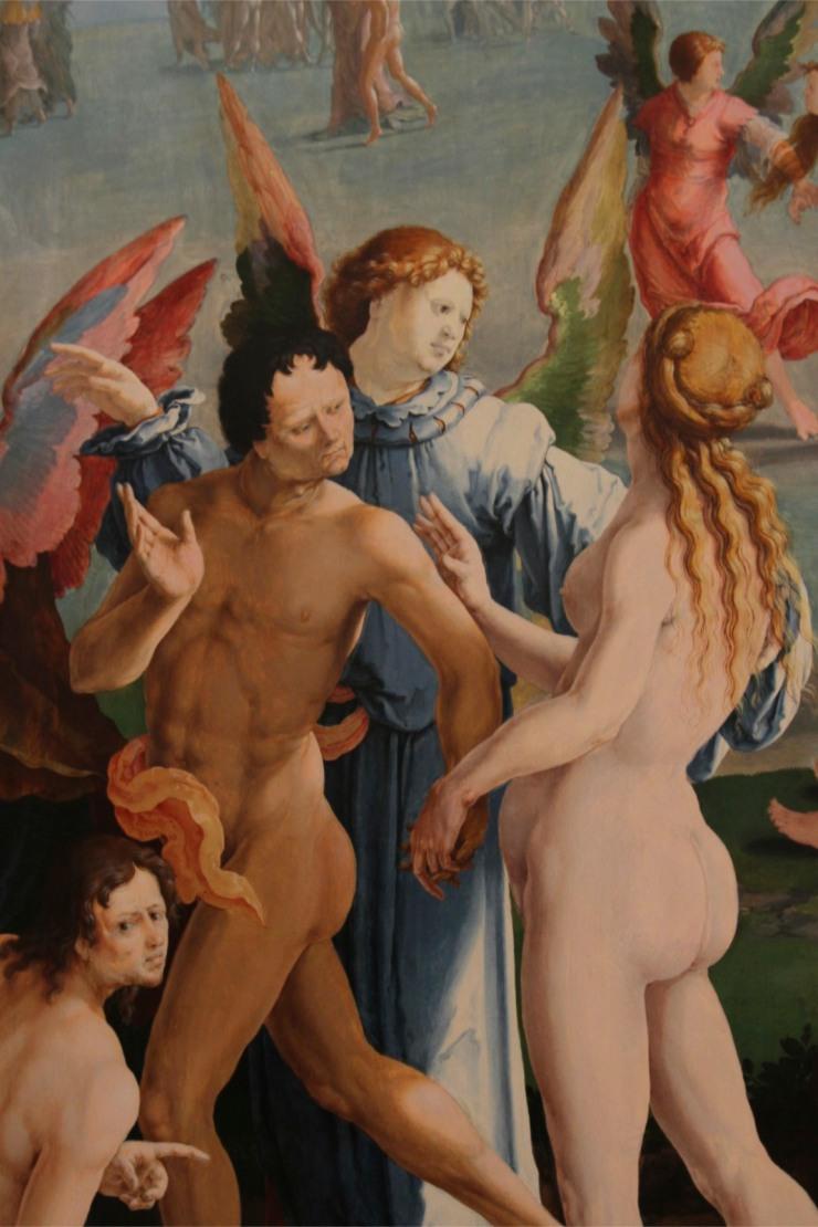 The Final Judgement by Lucas van Leyden, Lakenhal, Leiden, Netherlands
