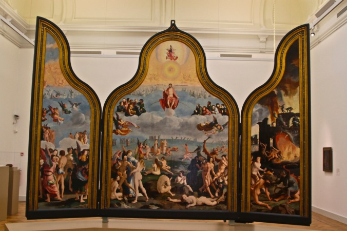 The Final Judgement by Lucas van Leyden, Lakenhal, Leiden, Netherlands