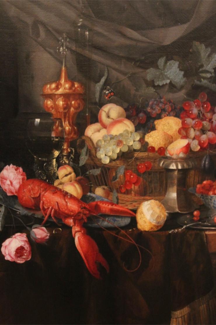 Luxurious Still Life by Pieter de Ring, Lakenhal, Leiden, Netherlands