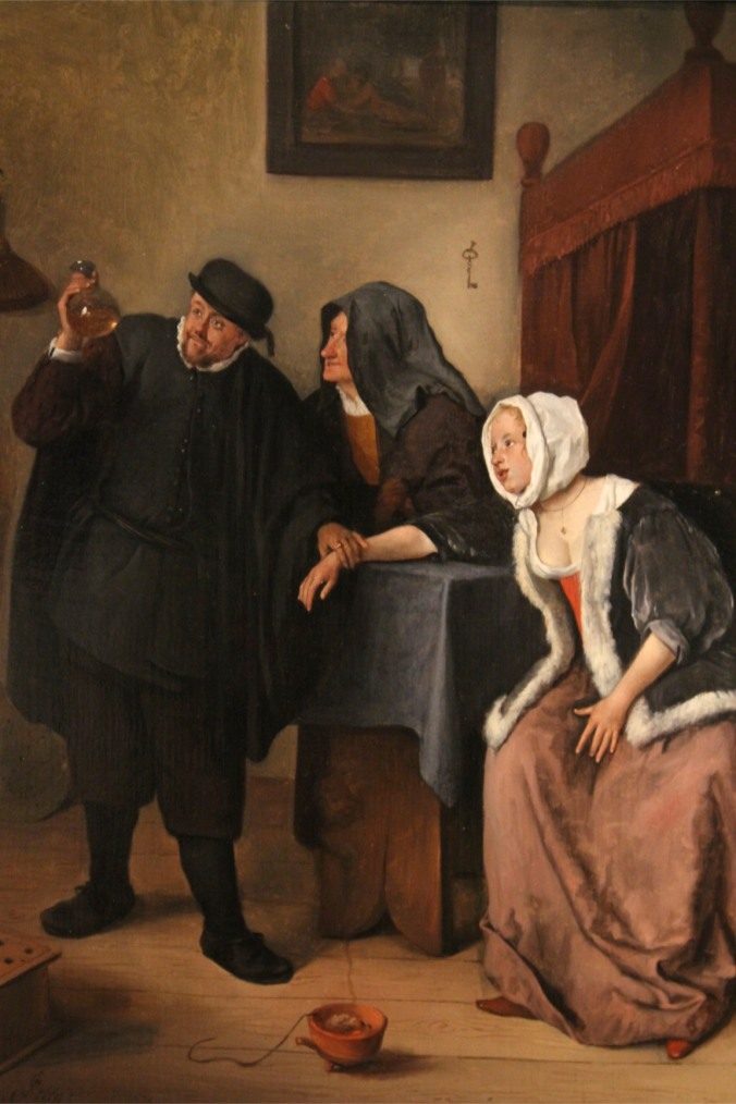 The Quack by Jan Steen, Lakenhal, Leiden, Netherlands
