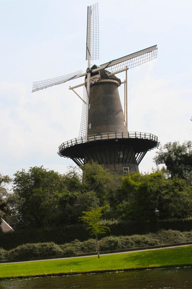 De Valk windmill, Leiden, Netherlands