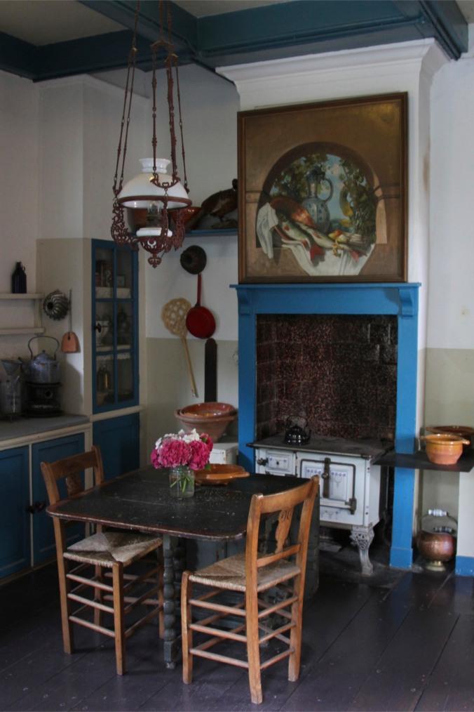 Kitchen, De Valk windmill, Leiden, Netherlands