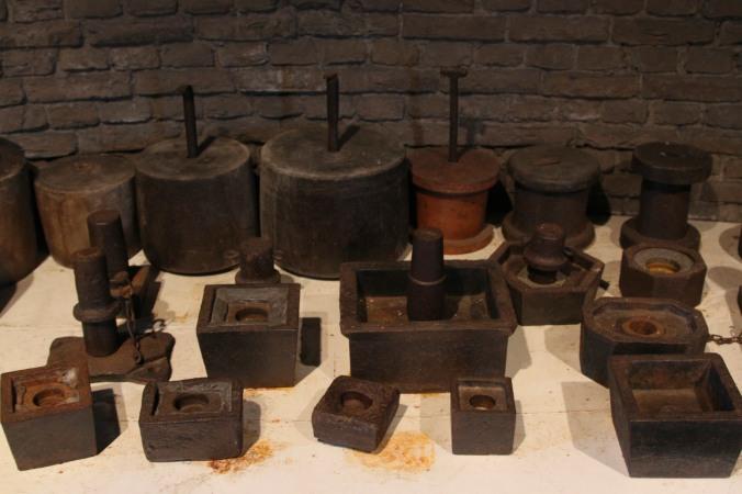 Milling tools, De Valk windmill, Leiden, Netherlands