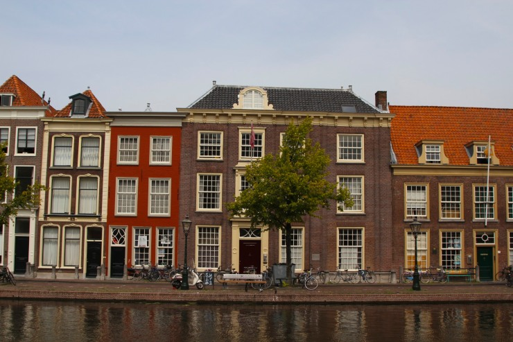 House on the Oude Vest, Leiden, Netherlands