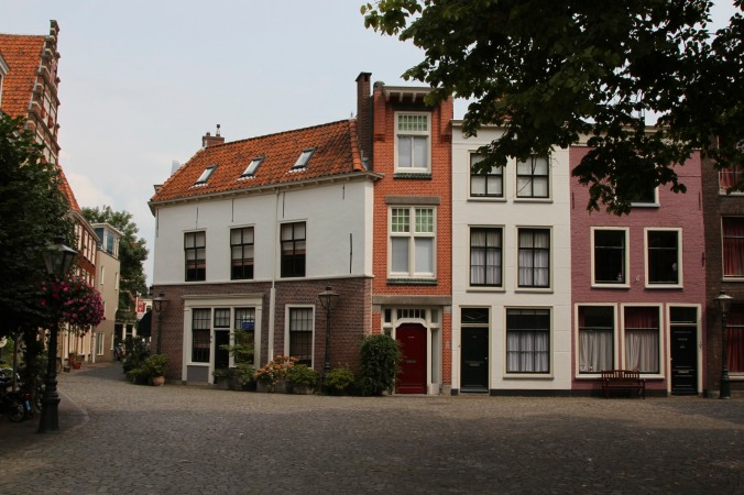 Narrow house, Leiden, Netherlands