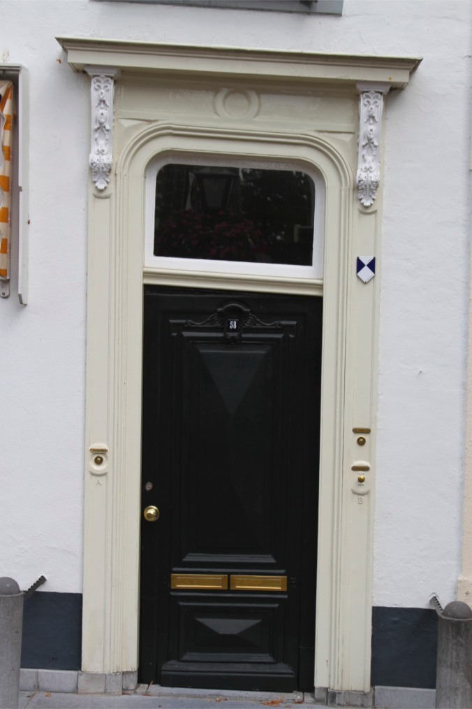 Wonky door, Leiden, Netherlands