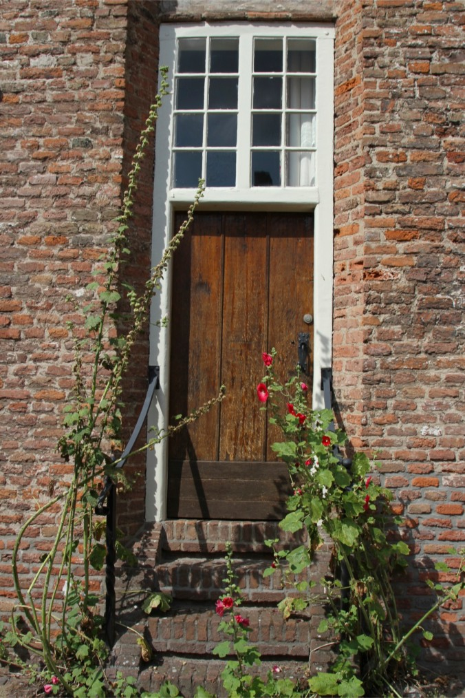 Doorway in medieval town centre, Amersfoort, Netherlands