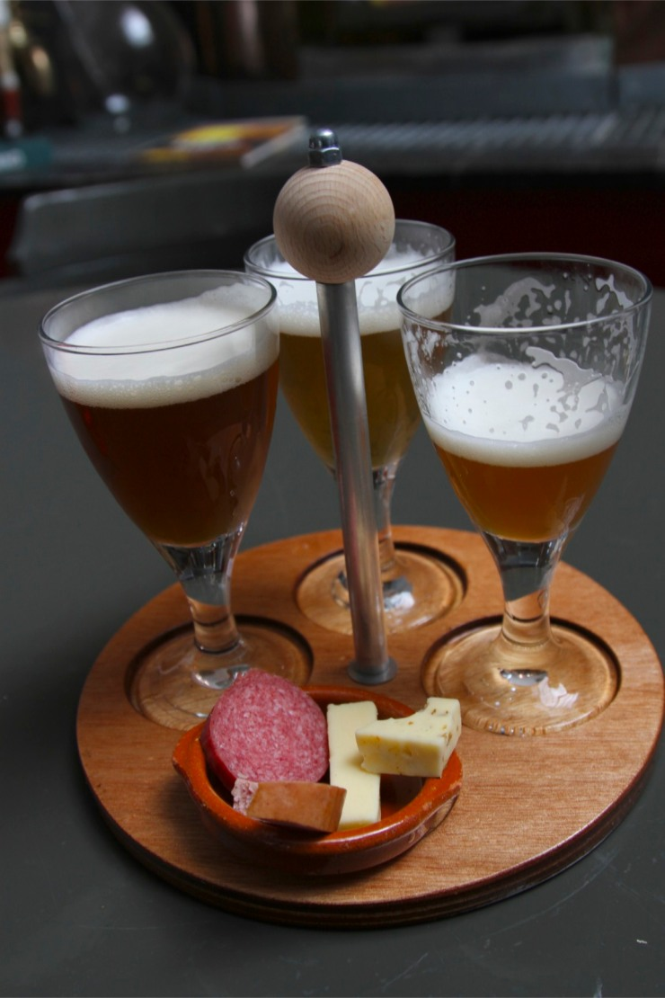 Beer tasting at Drie Ringen Bierbrouwwerij, Amersfoort, Netherlands