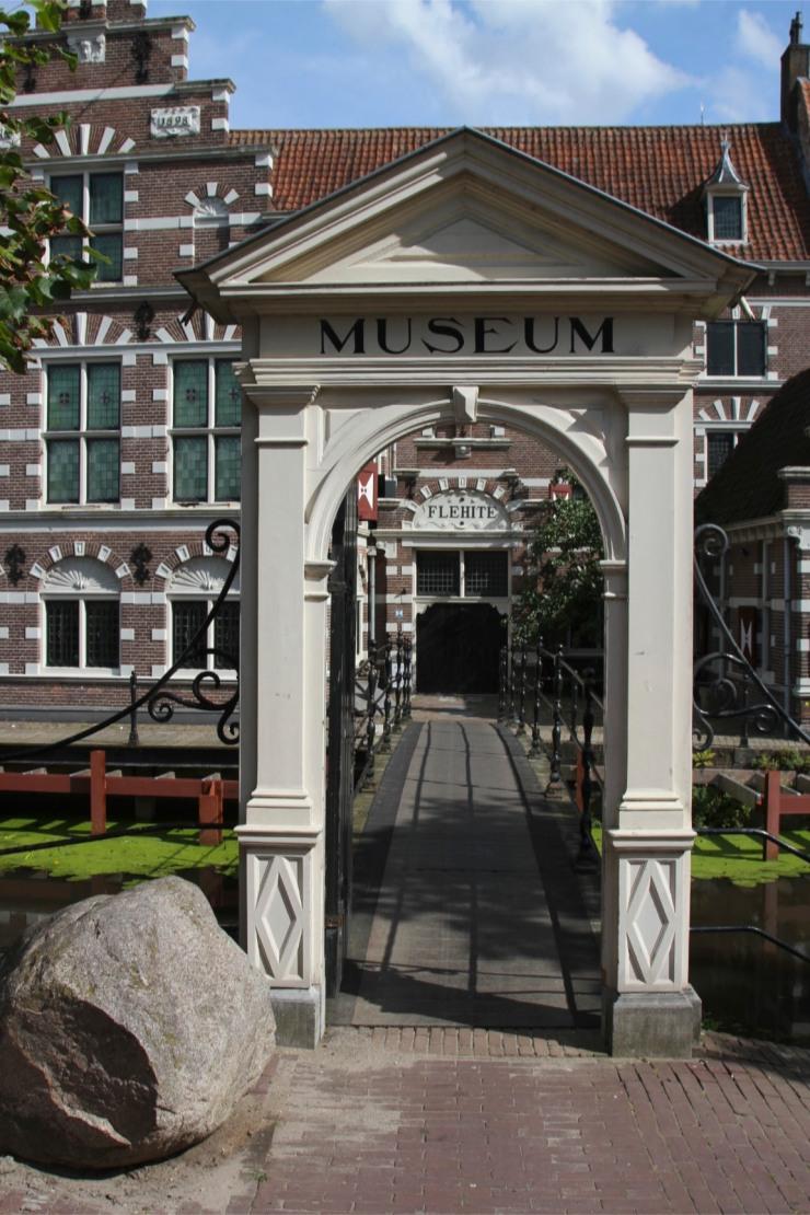 A boulder by the Flehite Museum, Amersfoort, Netherlands