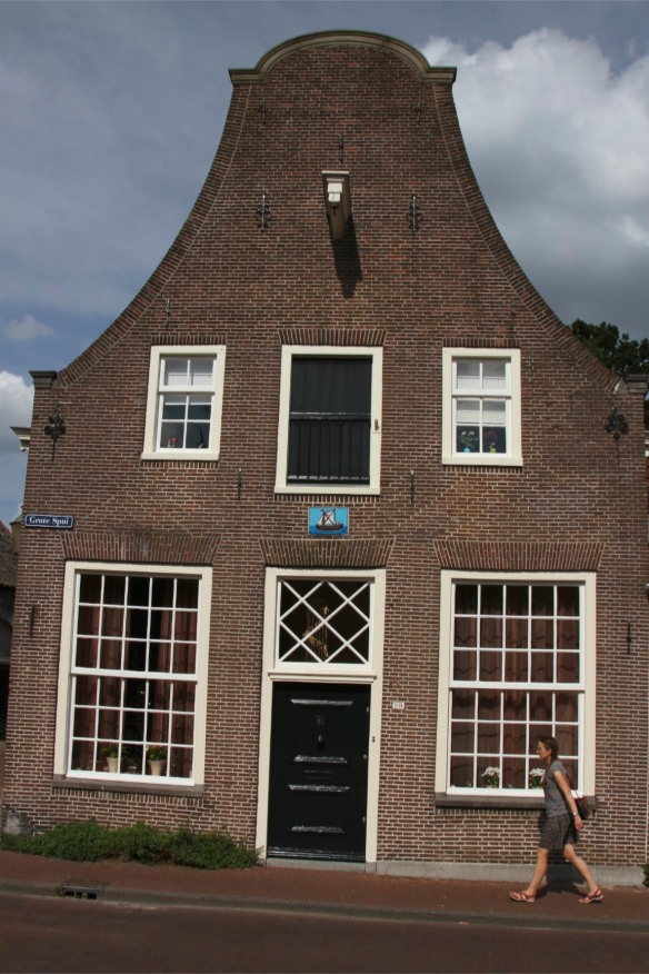 House in medieval town centre, Amersfoort, Netherlands