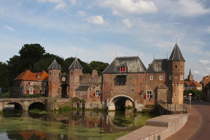 Koppelpoort city gate, Amersfoort, Netherlands