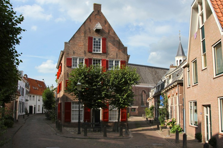 Medieval town centre, Amersfoort, Netherlands