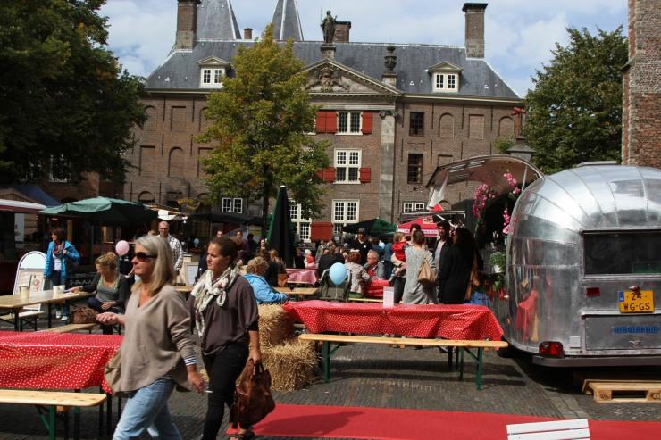 Food market, Leiden, Netherlands