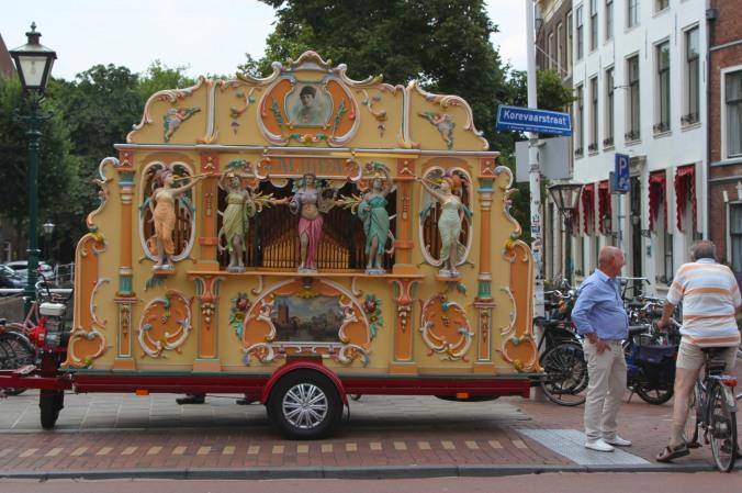 Music maker, Leiden, Netherlands