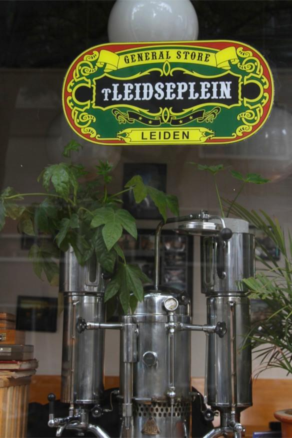 Coffee urn, Leiden, Netherlands