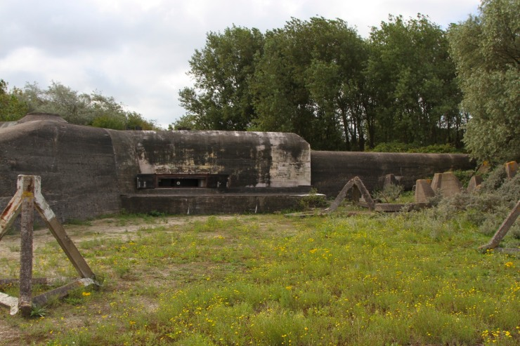 The Atlantic Wall at Hook of Holland, Netherlands
