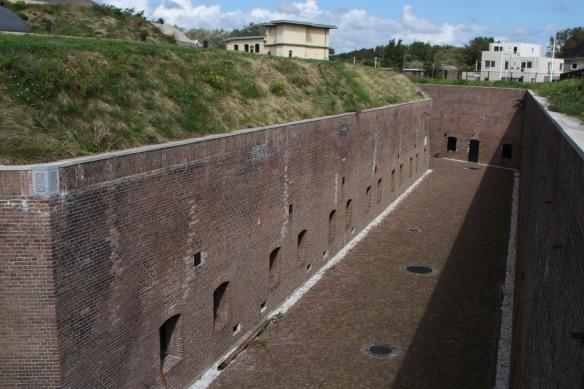 Fort 1881, Atlantic Wall at Hook of Holland, Netherlands
