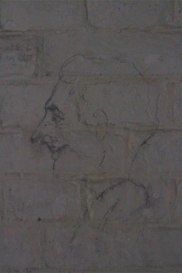 Graffeti in Fort 1881, Atlantic Wall at Hook of Holland, Netherlands