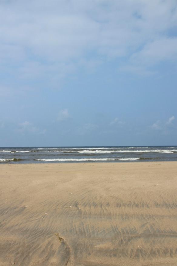 Beach on the North Sea Coast, Netherlands