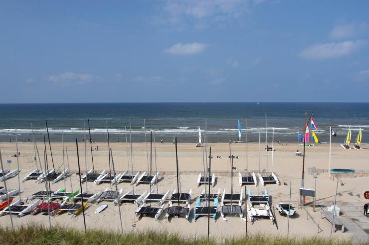 The beach at Zandvoort, Netherlands