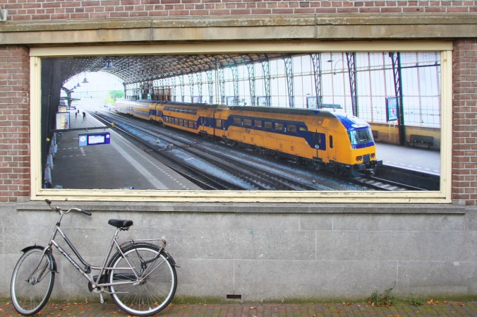 Haarlem train station, Netherlands