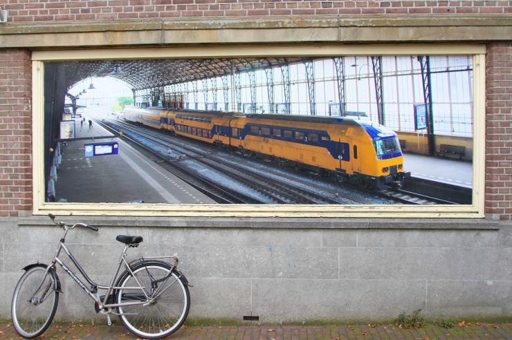 Haarlem train station, Netherlands