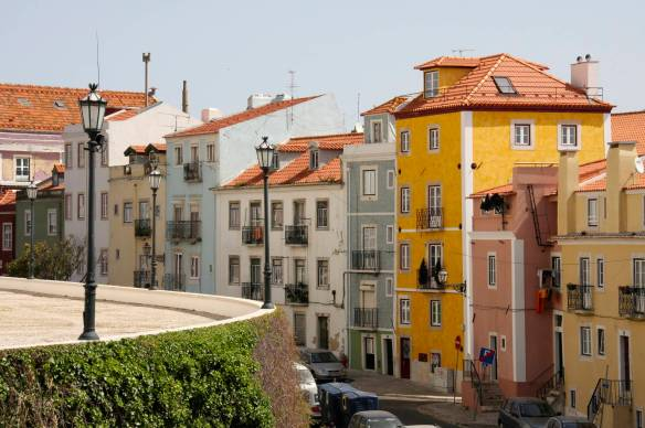 Houses, Lisbon, Portugal