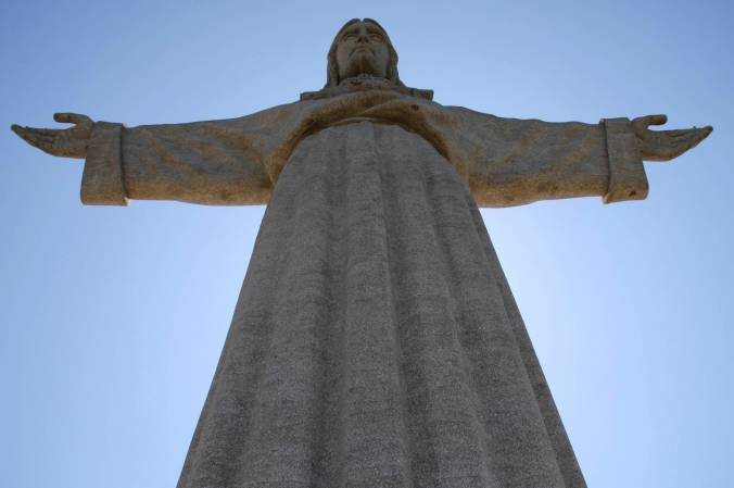 Cristo Rei or Christ the King, Lisbon, Portugal