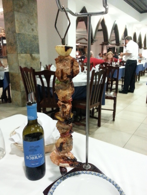 Traditional dinner, Portugal