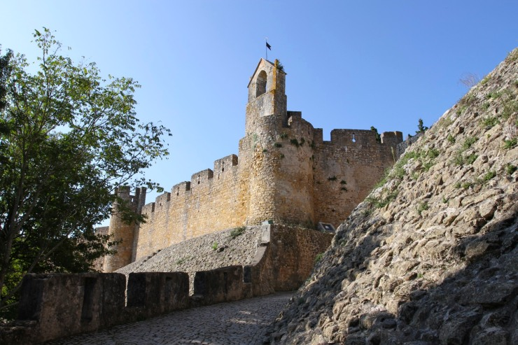 Knights Templar fortress at Tomar, Portugal