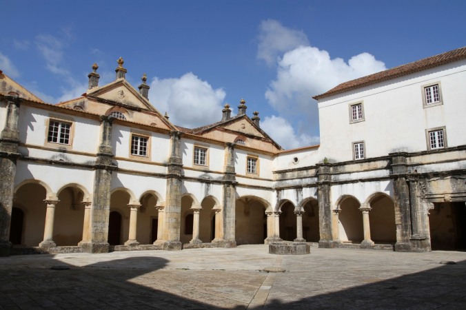 Convento de Cristo, Knights Templar fortress at Tomar, Portugal
