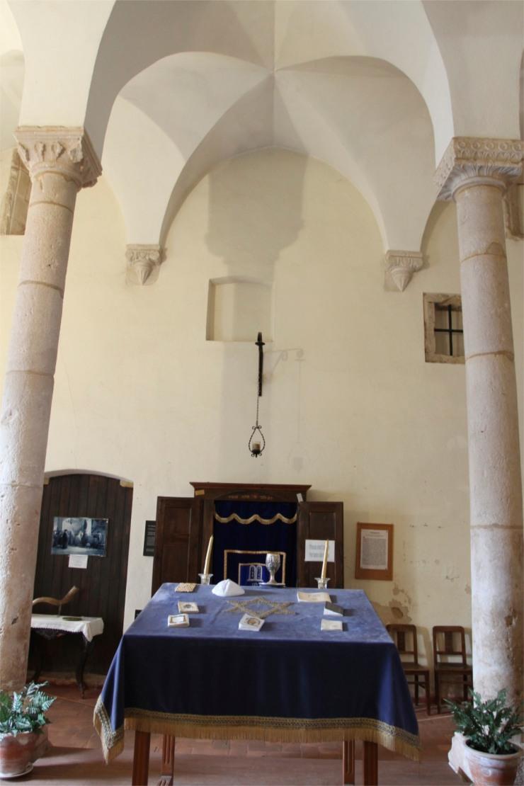Museo Luso-Hebraico Abraham Zacato, in Tomar's synagogue, Portugal