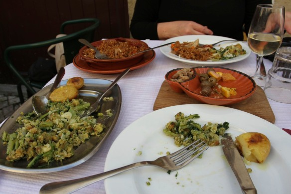 Lunch, Tomar, Portugal