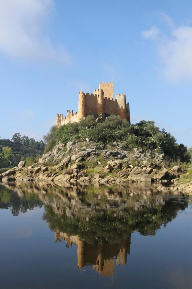 Castelo de Almourol, Constancia, Portugal
