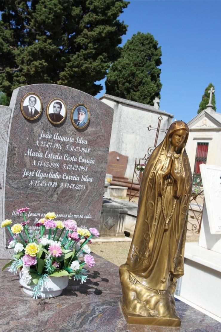 Cemetery in Constancia, Portugal