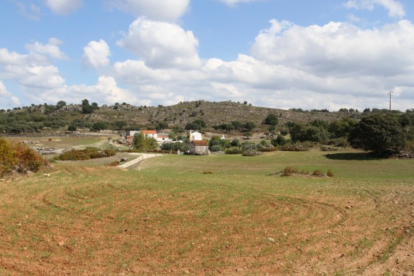 Countryside surrounding Castelo de Vide, Portugal
