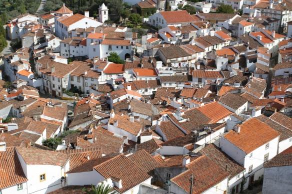 Rooftops, Castelo de Vide, Portugal